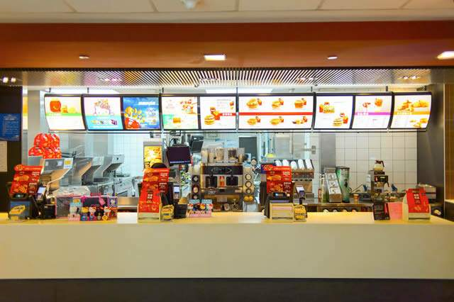 how popular are fast food outlets in shopping centres
