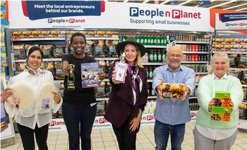 Entrepreneurs from Pick n Pay's Enterprise & Supplier Development programme who are participating in the PnP Meet the Maker showcase