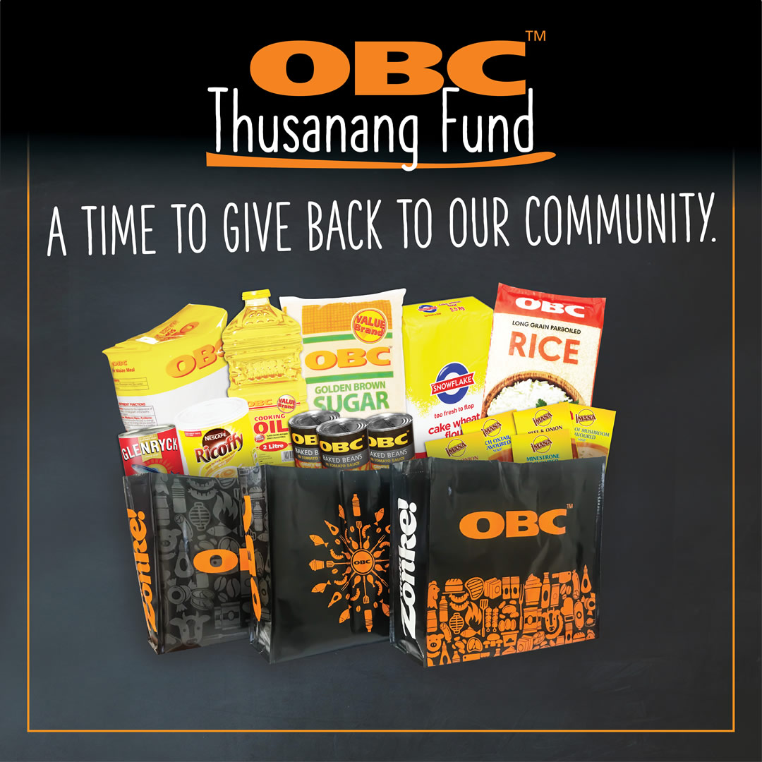OBC Thusanang fund Hampers